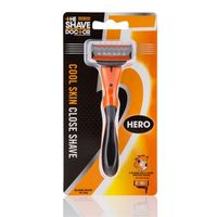 The Shave Doctor 5 Blade + Trimmer Edge Hero Razor