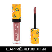 Lakme Absolute Matte Melt Mini Liquid Lip Color - Nude Umbrella