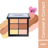 Nykaa SKINgenius Conceal & Correct Palette - Light 01