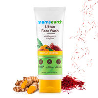 Mamaearth Ubtan Face Wash With Turmeric & Saffron For Tan Removal