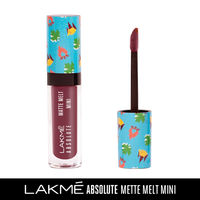 Lakme Absolute Matte Melt Mini Liquid Lip Color - Wine Voyage