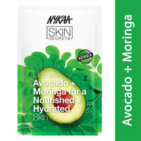 Nykaa Skin Secrets Avocado + Moringa Sheet Mask