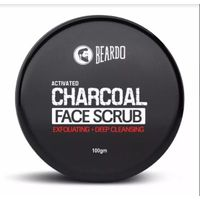 Beardo Activated Charcoal Face Scrub