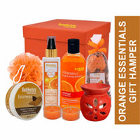 BodyHerbals Orange Essentials Spa Gift Hamper