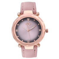 E2O Pink Dial Analog Watch For Women