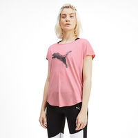 Puma Studio Mesh Cat Women's Training Tee - Pink