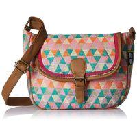 Kanvas Katha Jacquard Fashion Sling Bag