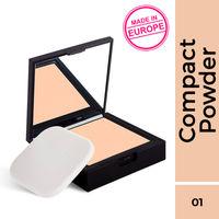 Nykaa SKINgenius Skin Perfecting & Hydrating Matte Powder Compact - Natural Ivory 01