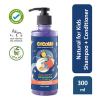 Cocomo Natural, Sulphate and Paraben Free, Kids Shampoo & Conditioner - Moon Sparkle (Age: 4 & up)