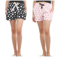 Nite Flite Women Shorts Pack of 2 - Multi-Color