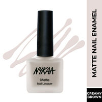 Nykaa Matte Nail Enamel Polish - Corny Creampuff 154