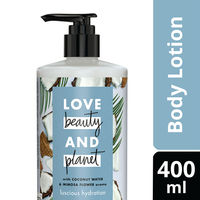 Love Beauty & Planet Coconut Water and Mimosa Flower Aroma Luscious Hydration Body Lotion