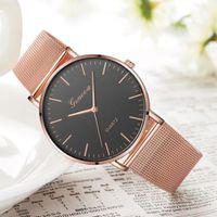 Ferosh Designer Bronze-Gold Watch