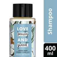 Love Beauty & Planet Coconut Water and Mimosa Flower Aroma Volume and Bounty Shampoo