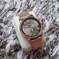 Ferosh Estrid Gold-Black Watch