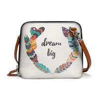 DailyObjects Feathers 40 - Trapeze Crossbody Bag