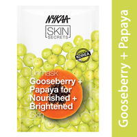 Nykaa Skin Secrets Gooseberry + Papaya Sheet Mask