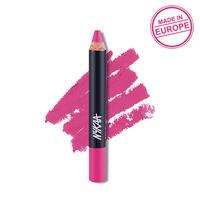 Nykaa Pout Perfect Lip & Cheek Velvet Matte Crayon Lipstick - Kiss-n-Tell Pink 02