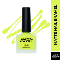 Nykaa Matte Nail Enamel Polish - Lemonade Fizz 76