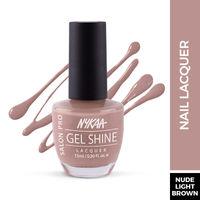 Nykaa Salon Shine Gel Nail Lacquer - Manhattan Madness 224