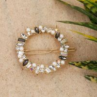 Bling Bag Crystal Ring Designer Hair Pin