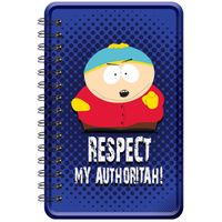 Happipress Respect My Authoritah (South Park) Metal Notebook