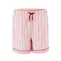 Nordlich Pink-Red Striped Shorts