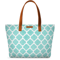 DailyObjects Teal Clover Fatty Tote Bag