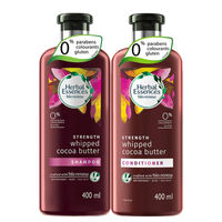 Herbal Essences Cocoa Butter Shampoo & Conditioner For Hair Strengthening - No Parabens, No Colourants