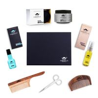MEN DESERVE Premium Beard Care and Hair Styling Gift Kit 2