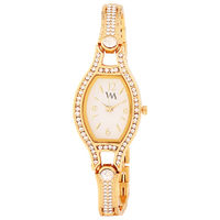 WM Gold Watch For Women (WMAL-130fc)