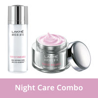 Lakme Absolute Perfect Radiance Skin Lightening Night Creme + Serum Combo