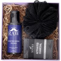 Matra Raw Man Activated Charcoal Luxury Skincare Hamper Gift Set