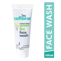 MCaffeine Naked Detox Green Tea Face Wash