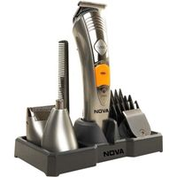 Nova Multi Grooming KIT 7 IN 1 NG 1095 Trimmer (Silver)