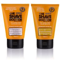 The Shave Doctor Shave Creme + Aftershave Cooling Gel