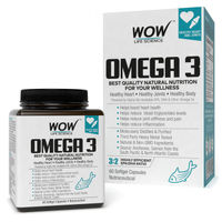 WOW Life Science Omega 3 Capsules