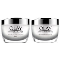 Olay White Radiance Day & Night Cream for Brightening and Glow