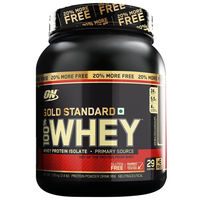 Optimum Nutrition (ON) Gold Standard 100% Whey Protein Powder - 2.4 lbs (Double Rich Chocolate)