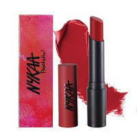 Nykaa Paintstix! Lipstick - Rebellious Red 10
