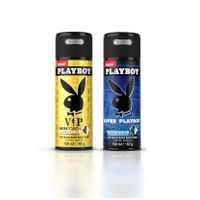 Playboy VIP & Super Deodorant Pack of 2