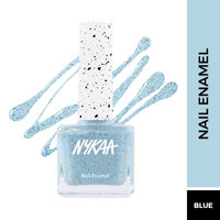 Nykaa Cookie Crumble Nail Enamel Polish - Peppermint Crackle 258