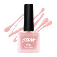 Nykaa Matte Nail Enamel Polish - Pink Ruffle 152