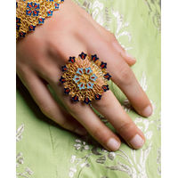 ROZANA by ZARIIN Floral Memories Ring