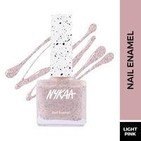 Nykaa Cookie Crumble Nail Enamel Polish - Strawberry Crinkle 194