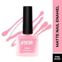 Nykaa Matte Nail Enamel Polish - Tender Tulle 153