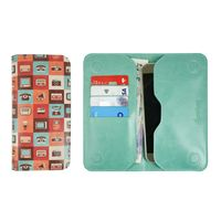 Bag of Small Things Multi Retro LM2 Magnetic Wallet