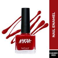 Nykaa Nail Enamel Polish - Very Cherry 04