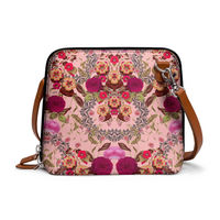 DailyObjects Vintage Lush - Trapeze Crossbody Bag