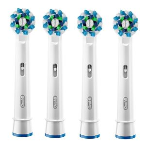 Oral-B Cross Action Electric Toothbrush Replacement Heads - Pack of 4